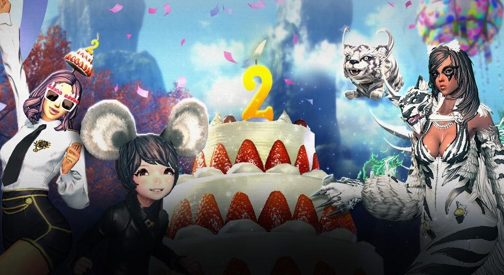 drugie urodziny Blade & Soul